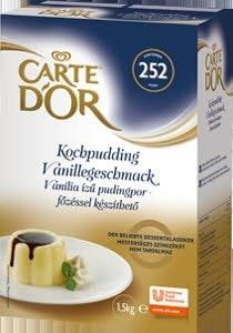 Carte D'Or Vaníliaízű pudingpor - főzéssel 1,5 kg -