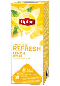 LIPTON Citrom tea 25 x 1,6 g - Változatos Lipton tea kínálat: herbal, fekete, zöld vagy gyömülcs ízű