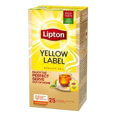 LIPTON Yellow Label tea 25 x 1,8 g -