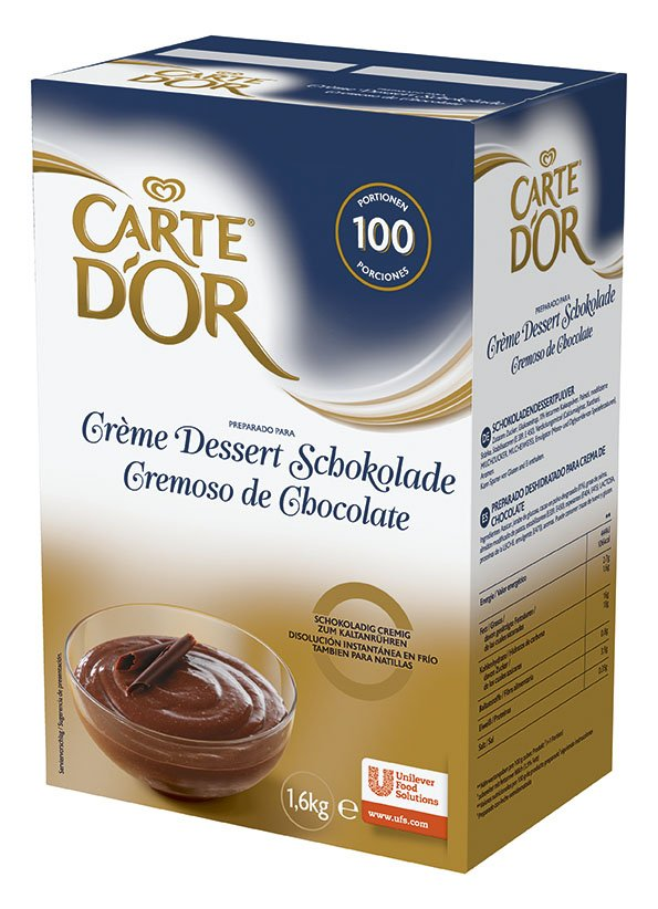 CARTE d'OR Kakaós krém desszert 1,6 kg -