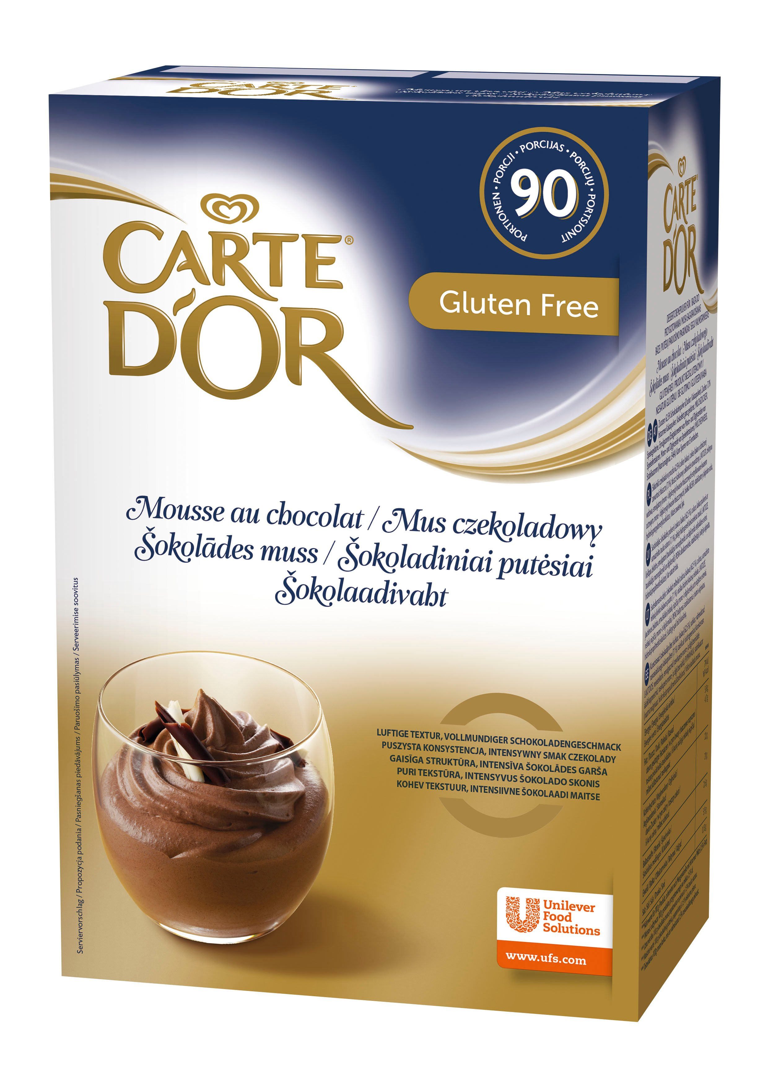 CARTE d'OR Csokoládé hab 1,44 kg -