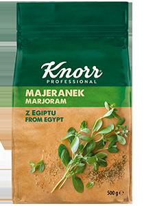 KNORR Majoranna 105 g - Napi szinten különböző fűszer növényeket használok, ezért fontos hogy megfelelő ízt, illatot biztosítsak ételeimnek.