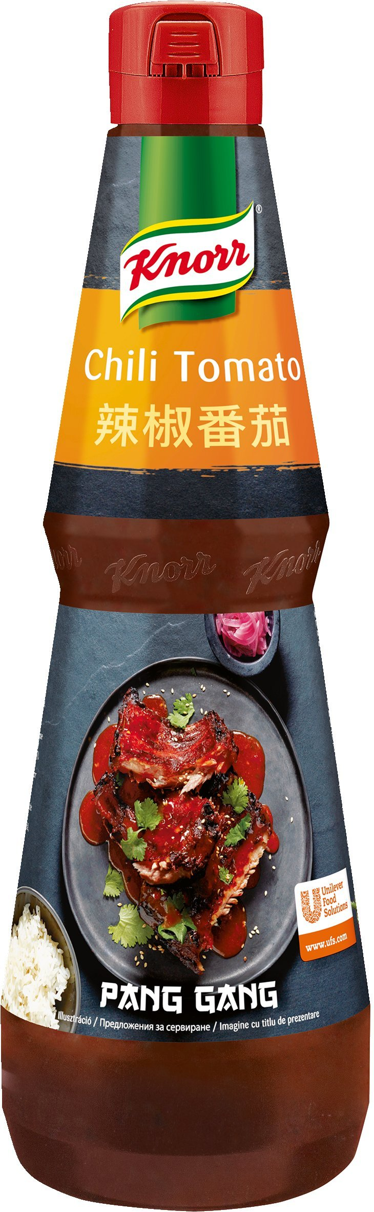 KNORR Pang Gang Chili-paradicsom szósz 1L -