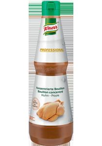 KNORR Prémium Folyékony Szárnyas Alap 1L - Kiemeli a húsok ízét, mesterséges ízfokozó és mesterséges színezék nélkül.