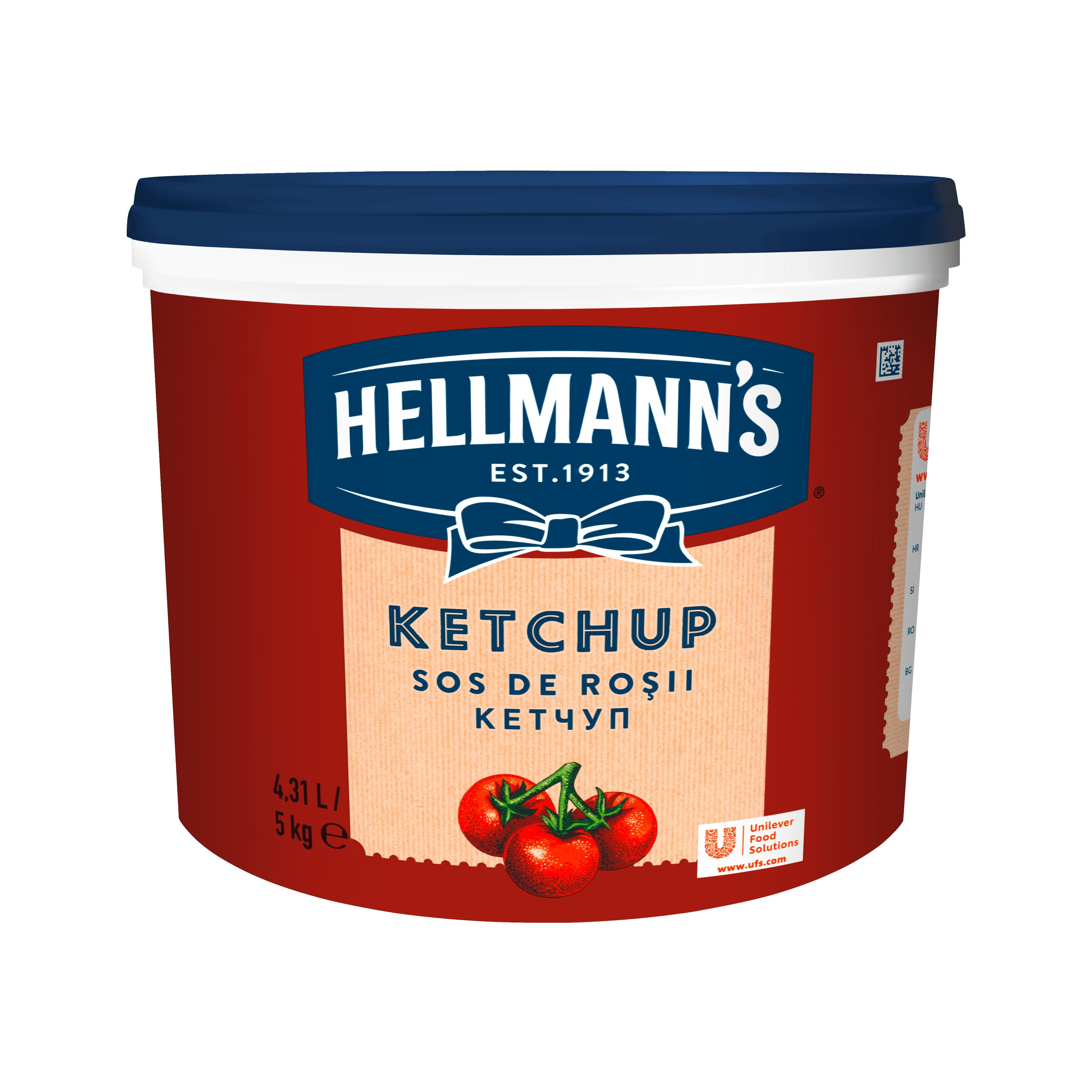HELLMANN'S Ketchup vödrös 5 kg -