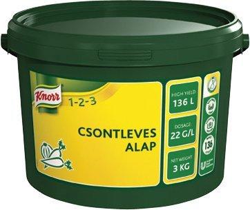 KNORR 1-2-3 Csontleves alap 3 kg -