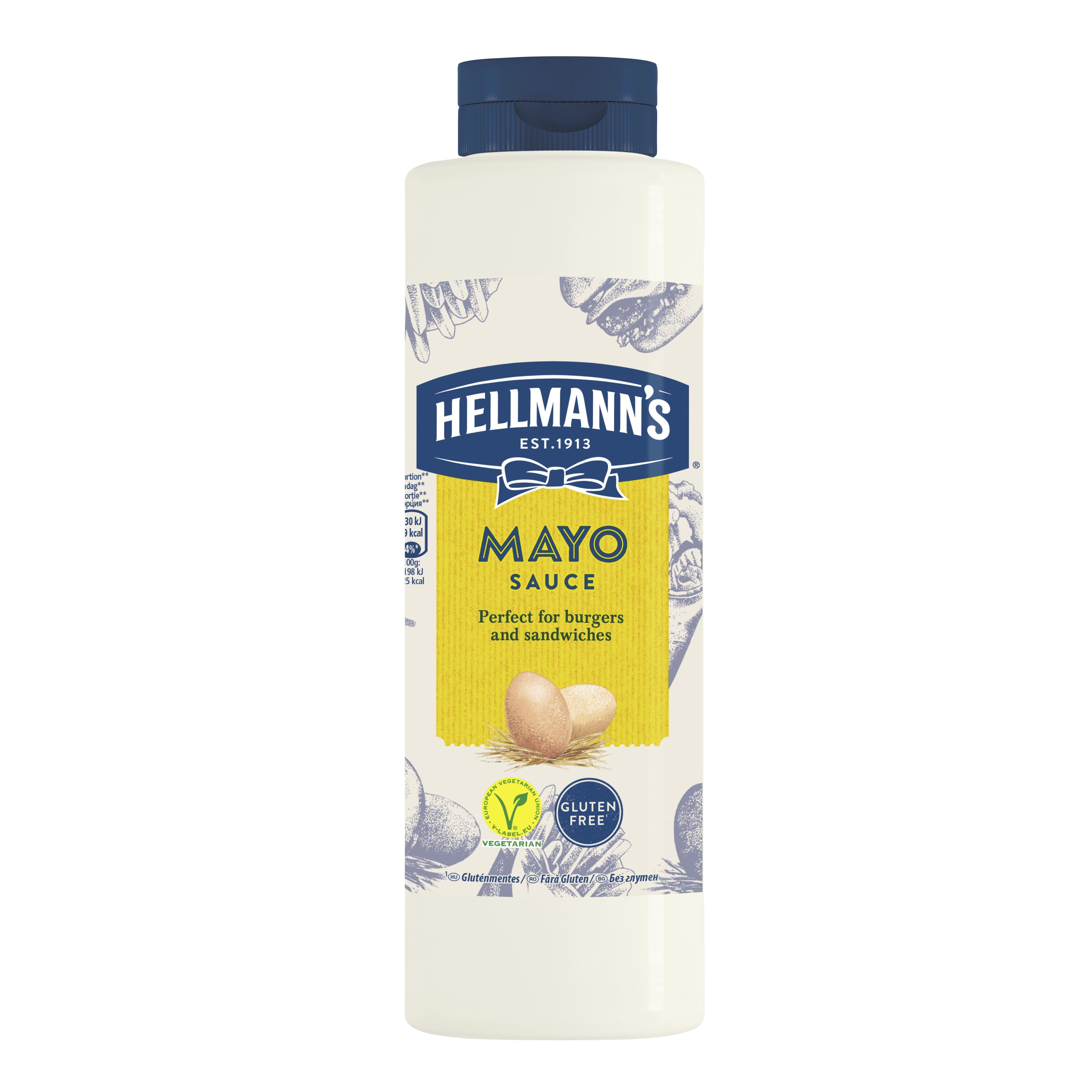 HELLMANN'S Majonézszósz 850ml -  Minőségi márkájú termék felszolgálása pozitív benyomást kelt a vendégekben.