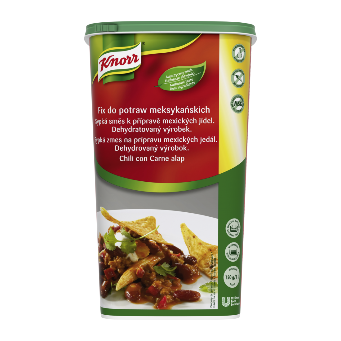 KNORR Chili con Carne alap 1.2 kg -