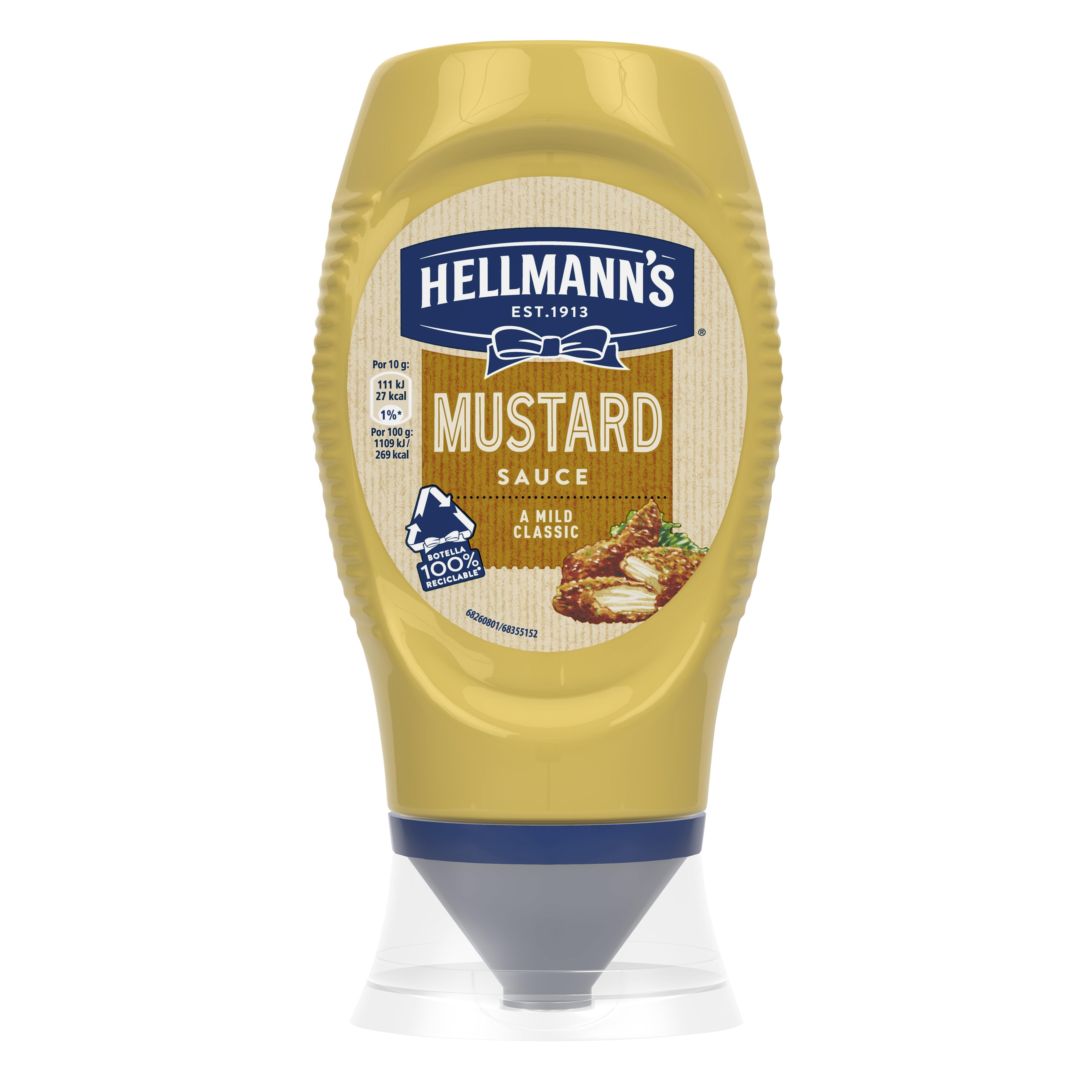 HELLMANN'S Mustár flakonos 250 ml -