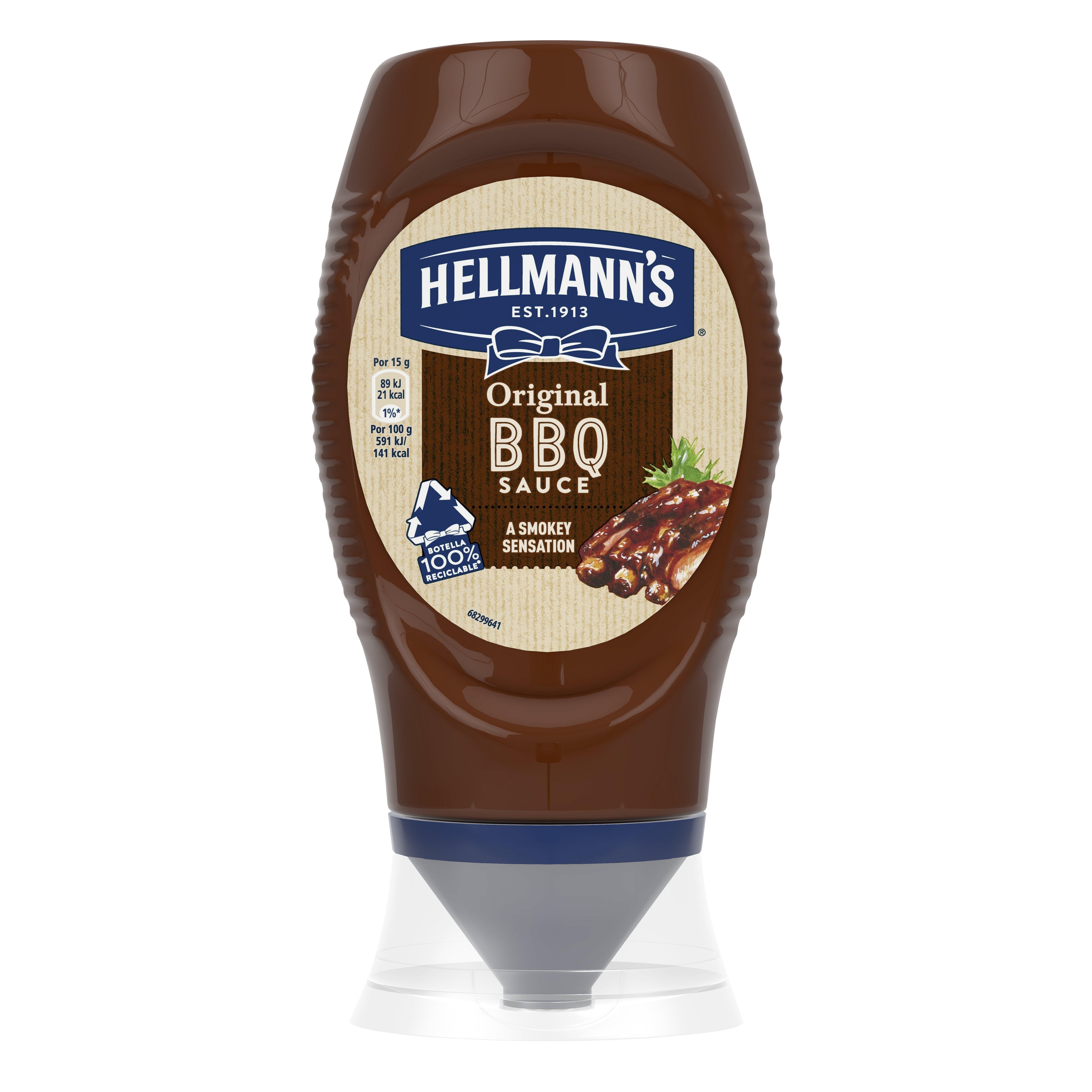 HELLMANN'S BBQ szósz flakonos 250 ml -