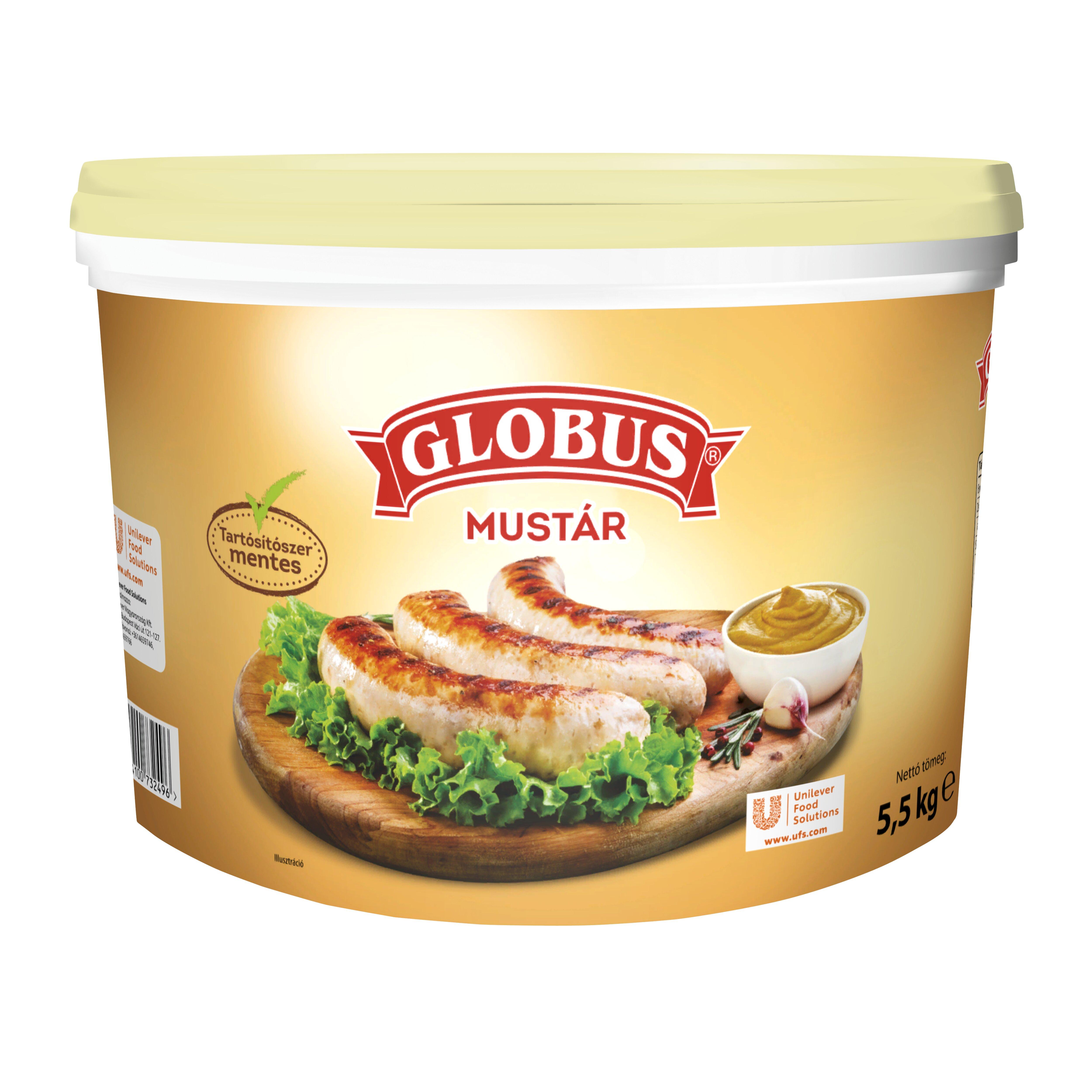 GLOBUS Mustár 5,5 kg -